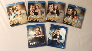 Sean Connery James Bond Movies (1962-1971) - Blu Ray Discussion Review and Unboxing