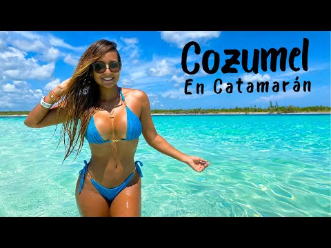 La MEJOR ISLA DEL CARIBE MEXICANO - Cozumel sin sargazo | México Vlog