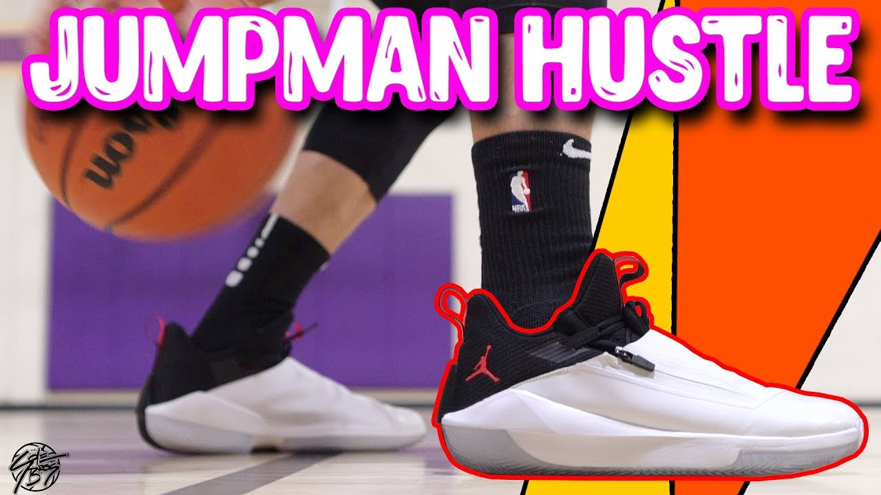 Escoba Tengo una clase de ingles Ilustrar  Jordan Jumpman Hustle Performance Review! - YouTube