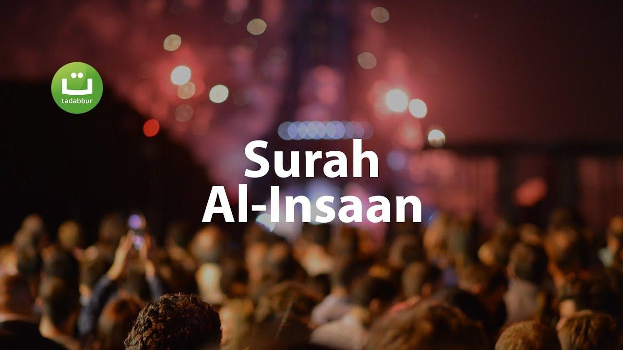 Surah Al-Insaan Full Terjemah - Omar Hisham Al Arabi