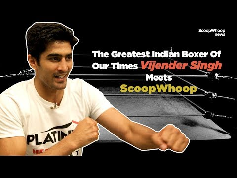 SW News: Vijender Singh shows off his moves!