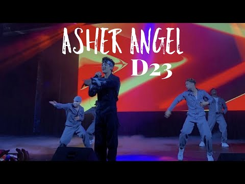 asher-angel---d23-expo
