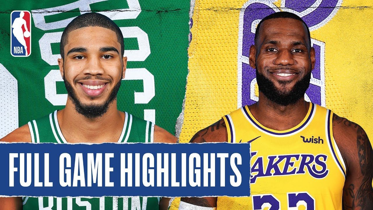CELTICS at LAKERS - FULL GAME HIGHLIGHTS - February 23- 2020