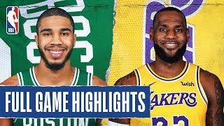 CELTICS at LAKERS | FULL GAME HIGHLIGHTS | February 23, 2020