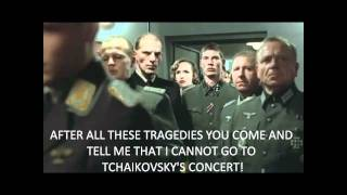 Hitler is Informed about Tchaikovsky