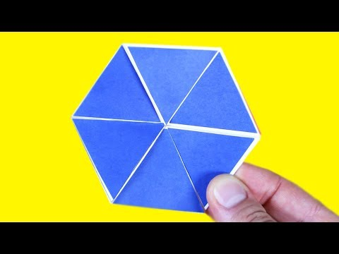 HOW TO MAKE AN INFINITY FOLDING FIDGET TOY WITH PAPER