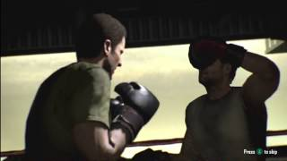 Boxing fight on Black Ops 2