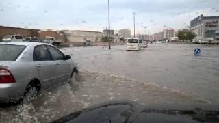Dubai Traffic Caused By Heavy Storm 30.11.2012