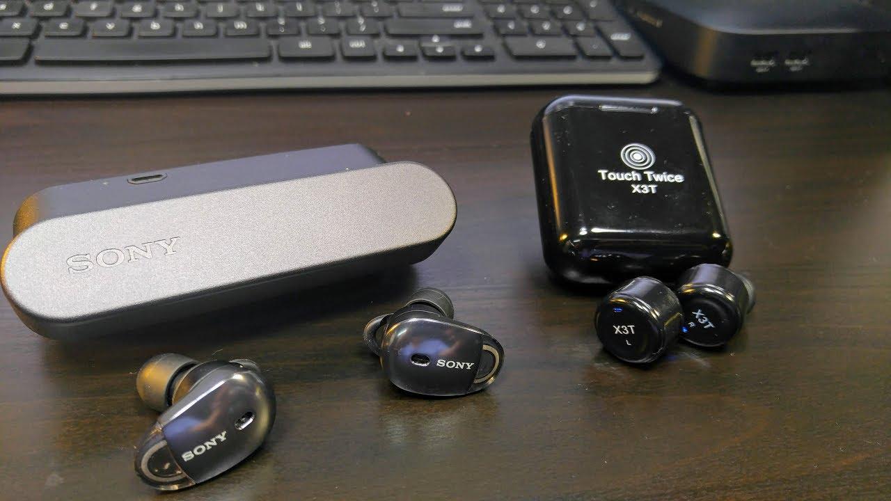 9200b720711 Sony WF 1000X vs X3T Battle of True Wireless Earbuds Round 1 - YouTube