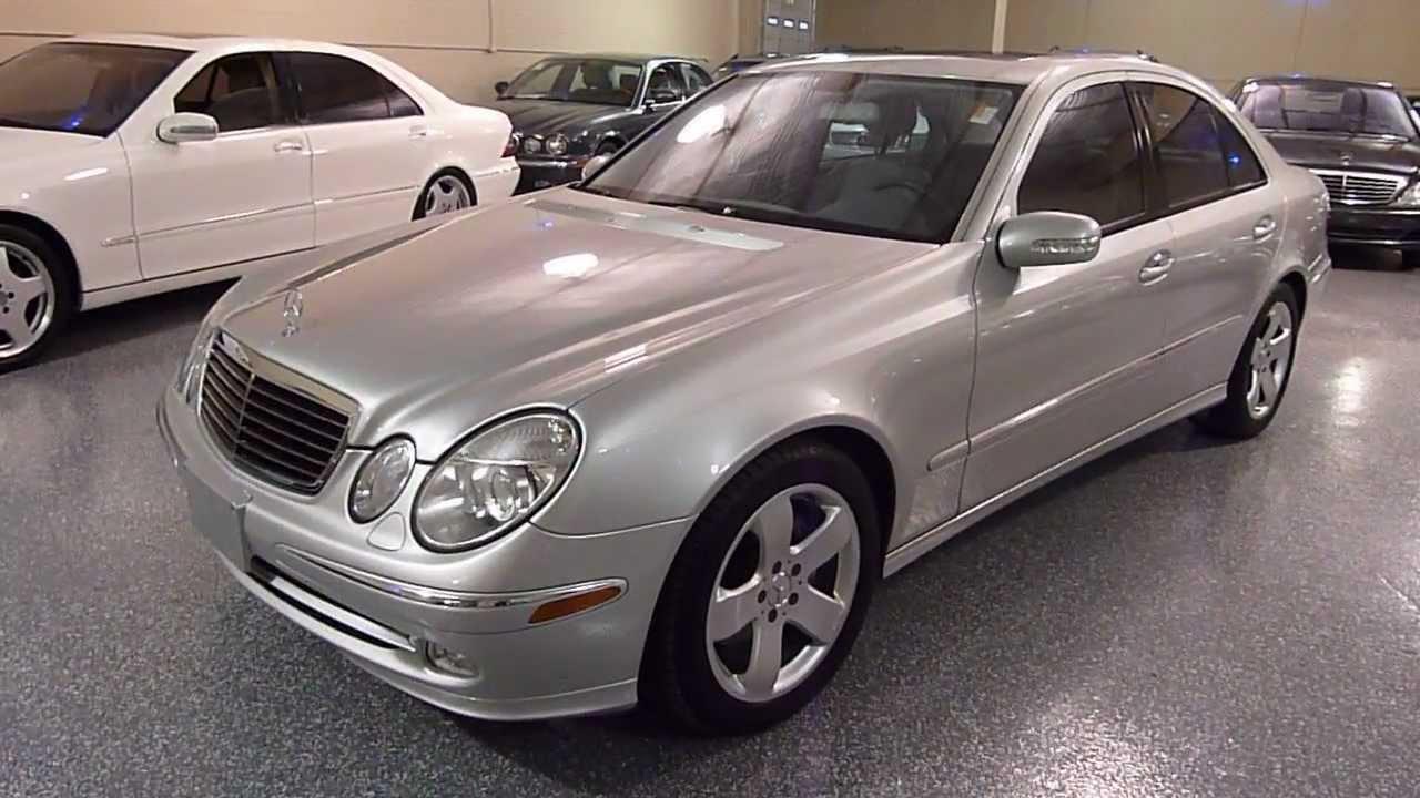 2004 mercedes benz e500 4dr sedan 5 0l sold 2229 youtube for Mercedes benz e500 coupe