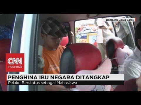 Penghina Ibu Negara, Ibu Iriana Jokowi, Ditangkap