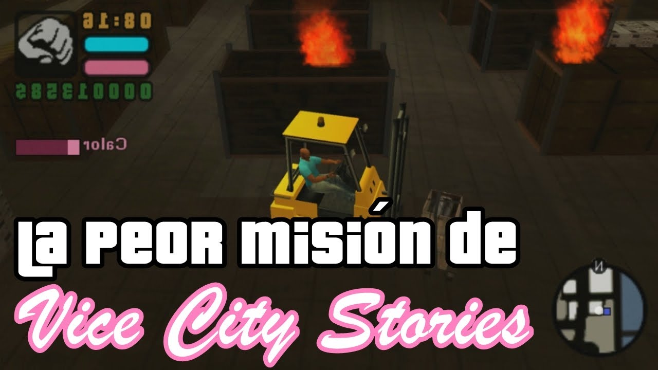 La PEOR MISIÓN de GTA: Vice City Stories