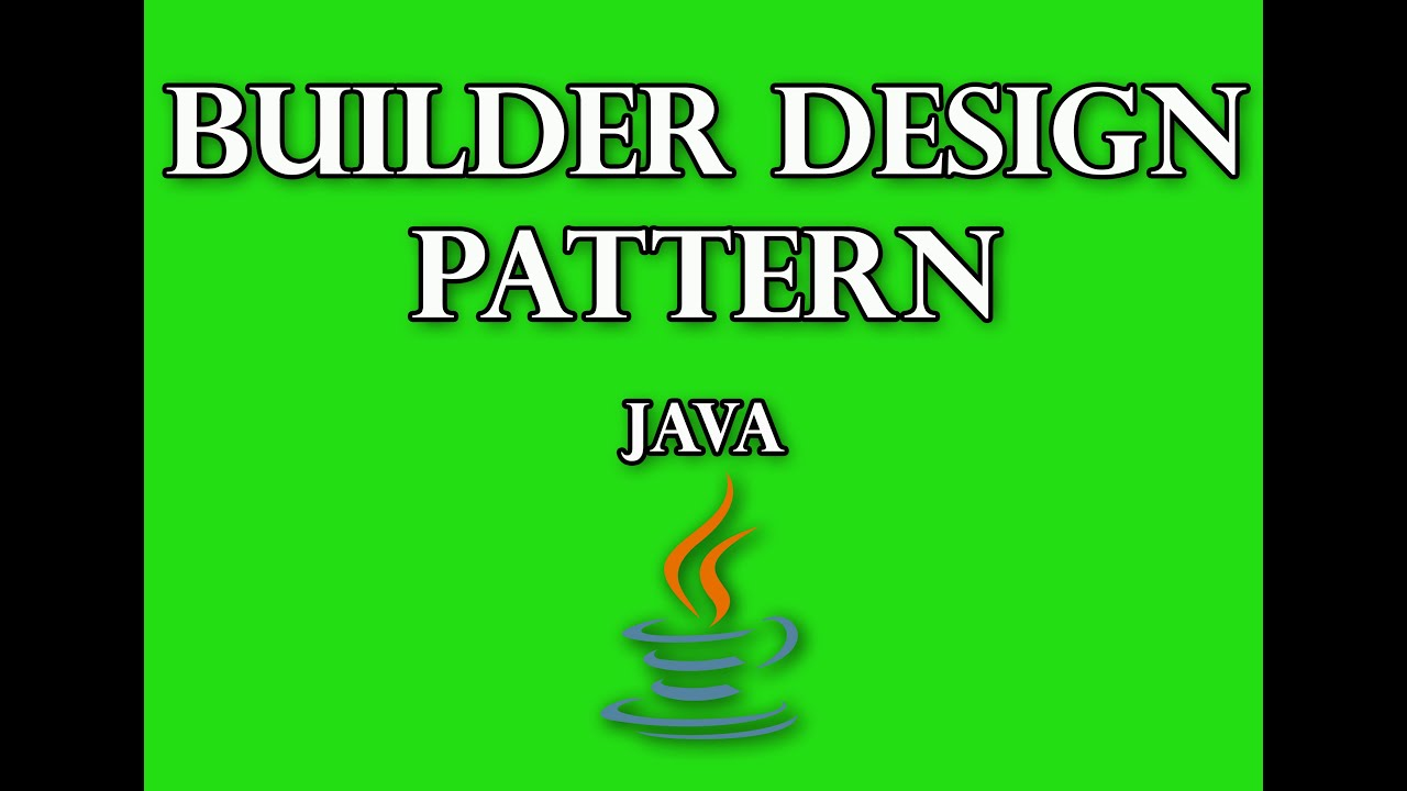 Builder design pattern in java interview questions