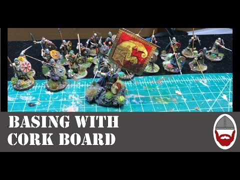 Basing with Cork Board