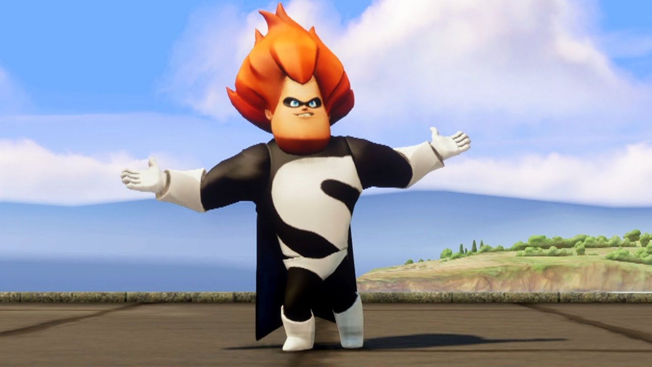 Disney Infinity The Incredibles Playset Battle With Syndrome Final Youtube
