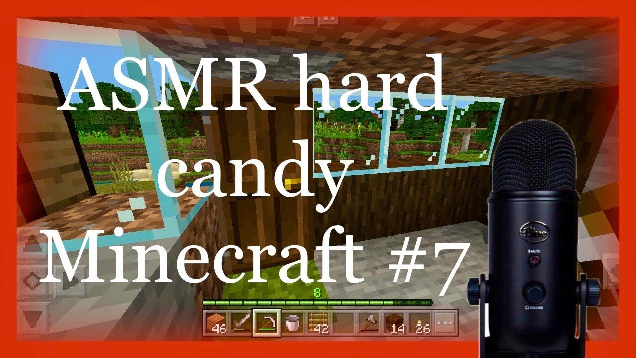 [ASMR] Whispered Minecraft gameplay Munching Hard Candy 🍭 | FOR SLEEP |  Survival episode 7