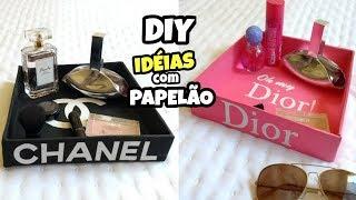 DIY Idéias INCRÍVEIS com PAPELÃO