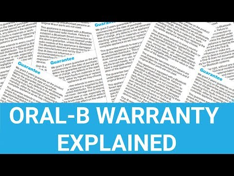 Oral-B Electric Toothbrush Warranty Explained - UK - YouTube