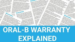 Gambar cover Oral-B Electric Toothbrush Warranty Explained - UK