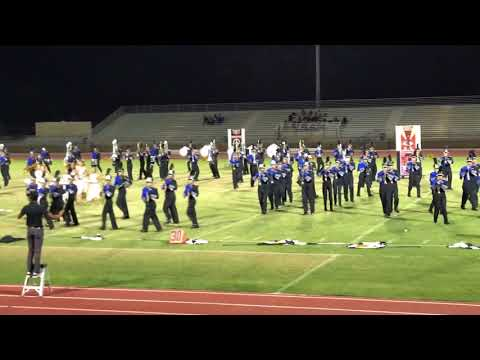 Cathedral City  Marching Band at Palm Desert 2017
