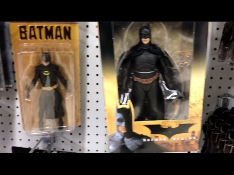 Episode 93 - TOY HUNTING NECA Batman and Terminator Figures, Black Series Star Wars, and more!