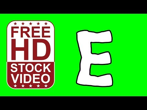 Free Hd Video Backgrounds Animated Letter B Cartoon Style