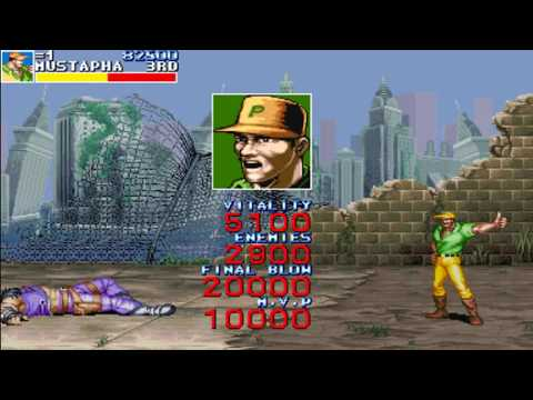 Cadillacs and Dinosaurs Mustapha Cairo Arcade Multi Games MAME Playthrough (With download link)