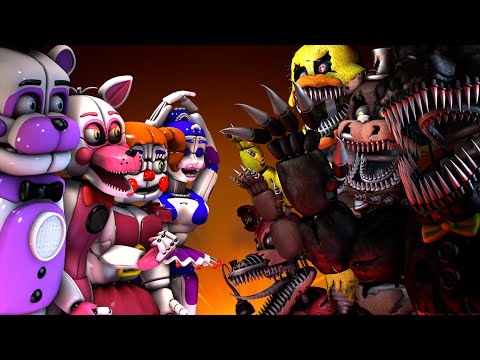 [SFM FNAF] Sister Location VS. Five Nightss at Freddys