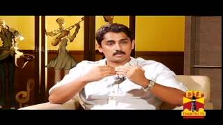 "Diwali Special - ""Enakkul Oruvan"" : Interview with Siddharth - Thanthi TV"