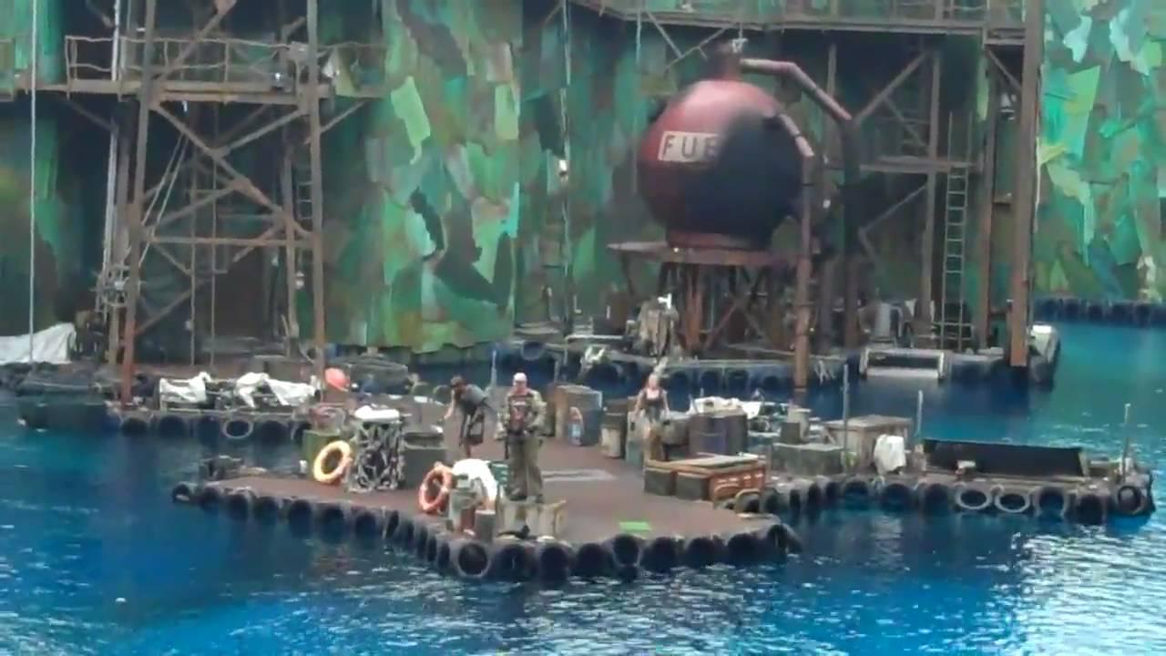 Waterworld Show Universal Studios Singapore Part 1 of 2 ...