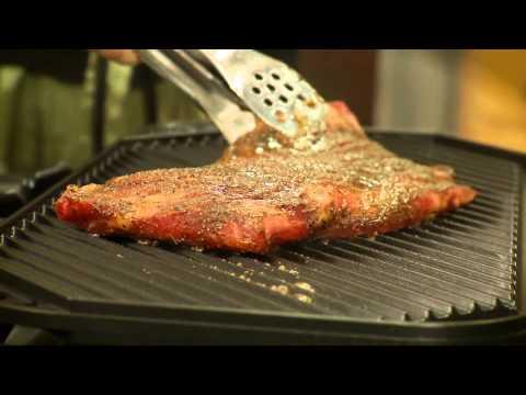 Mediterranean Rub Flank Steak