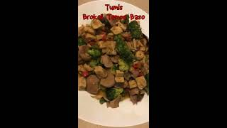 How to Cook Saute Broccoli Tempe Meatball | Cooking Cooking