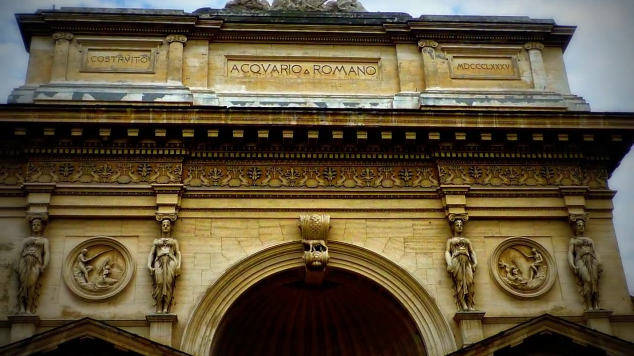 Matrimonio Acquario Romano : Acquario romano youtube