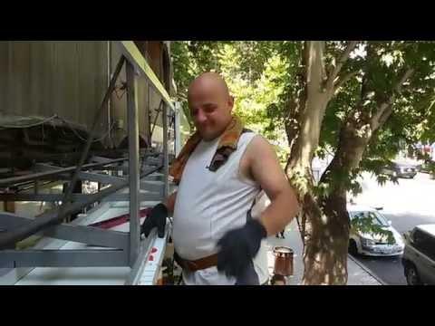 Главная - Установка козырьков и бельевых роликов в Ташкенте