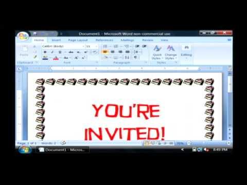 Printable Invitations