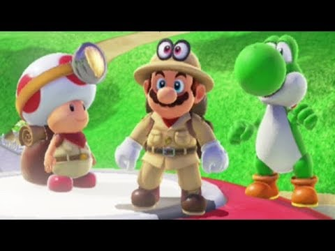 Super Mario Odyssey All Captain Toad Locations Youtube