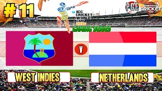 ICC Cricket World Cup 2015 (Gaming Series) - Pool B Match 11 West Indies v Netherlands