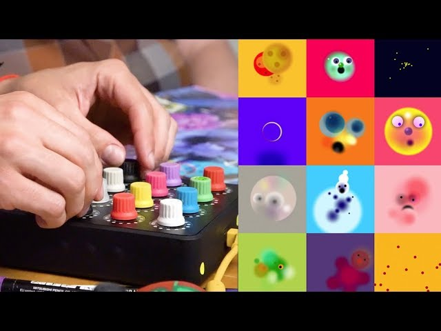 Paint with your MIDI controller? Dr. Dot + the Midi Fighter Twister