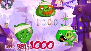 Angry Birds 2 Pig City Hamsterdam – LEVEL 997–1000 BOSS LEVEL CHEF PIG, FOREMAN PIG, KING PIG