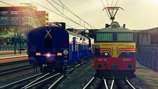 [MSTS] Train Simulator Indian Railways : 12859 GITANJALI EXPRESS Departing CSTM   CST - DADAR  