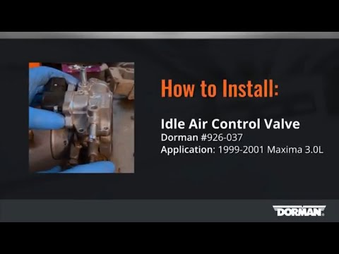 Nissan Maxima Idle Air Control Valve Installation by Dorman Products