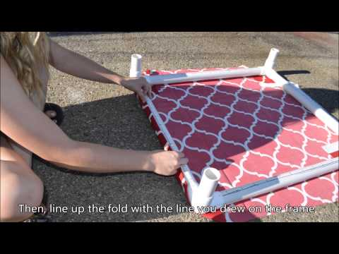 How To Make An Elevated Dog Bed