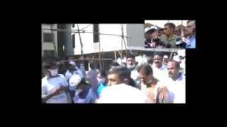 dr jayaprakash narayan and loksatta leaders in swacch bharat campaign kphb kukatpally
