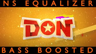 Don Movie Promo Music    Sivakarthikeyan    Anirudh Songs   BASS BOOSTED  NS EQUALIZER