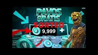 FREE V-BUCKS FORTNITE PAVOS GRATIS FORTNITE