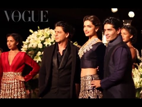 Shah Rukh Khan, Deepika Padukone, Manish Malhotra at PCJ Delhi Couture Week: Day 5 | VOGUE India