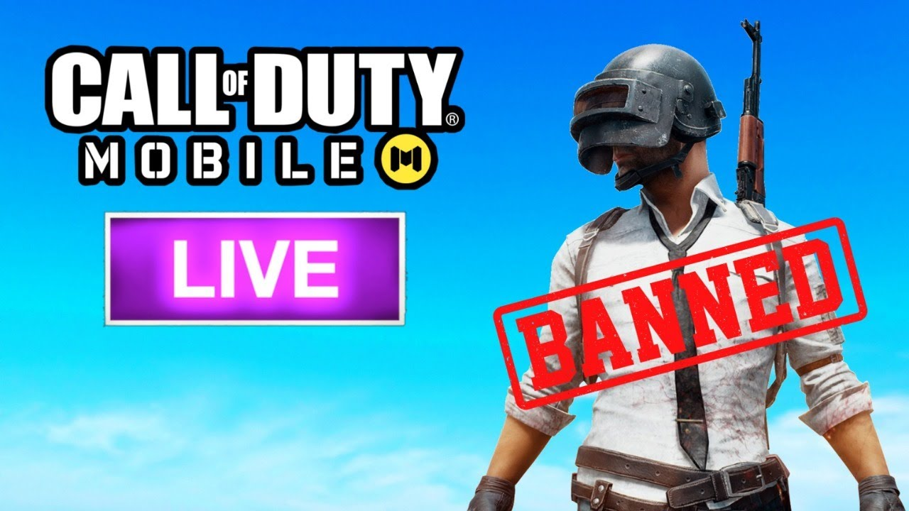 Pubg Mobile Banned in India | Call of Duty Mobile Live Stream