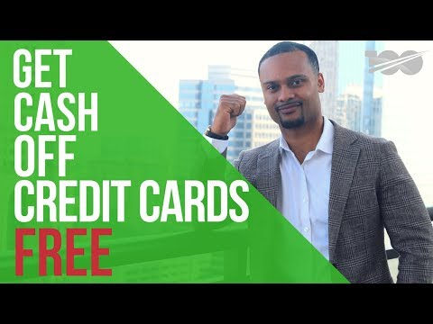 How to get cash off any credit card without fees or cash advances