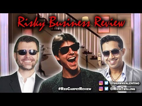 Risky Business Review - RED CARPET MOVIE REVIEWS - Tom Cruise Career in Review