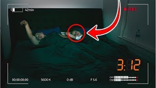 PARANORMAL SLEEP CAUGHT ON CAMERA! (REAL GHOST)